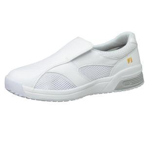 通気性ナースシューズ メンズ レディース メディカル エレパス CSS-300N 静電 ホワイト 蒸れない 軽量 医療 衛生 靴 疲れにくい|verdexcel-medical