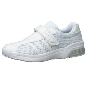メディカルエレパス 通気性 CSS-308 静電 ホワイト大サイズ 蒸れにくい ナースシューズ 医療 衛生 靴 疲れにくい|verdexcel-medical