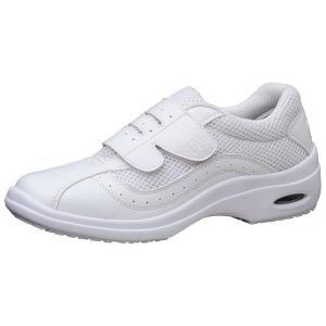 通気性ナースシューズ メディカルエレパス CSS-10Si静電 ホワイト 医療 衛生 靴 疲れにくい|verdexcel-medical