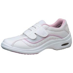 通気性ナースシューズ メディカルエレパス CSS-10Si静電 ピンク 医療 衛生 靴 疲れにくい|verdexcel-medical