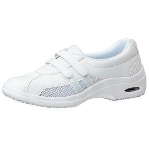 通気性ナースシューズ メディカルエレパス CSS-14Si静電 ホワイト 医療 衛生 靴 疲れにくい|verdexcel-medical