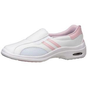 通気性ナースシューズ メディカルエレパス CSS-16Si静電 ピンク 蒸れない 医療 衛生 靴 疲れにくい|verdexcel-medical