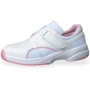 メンズ レディース 通気性ナースケアセフティ CSS-01N ピンク 耐滑 抗菌加工 医療 衛生 靴|verdexcel-medical