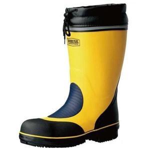 ミドリ安全 先芯入長靴 777 防寒 イエロー 安全靴 雪 長靴 作業用 除雪 雪かき 現場 倉庫 工場 水産|verdexcel-medical