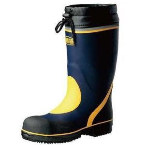 ミドリ安全 先芯入長靴 777 防寒 ネイビー 安全靴 雪 長靴 作業用 除雪 雪かき 現場 倉庫 工場 水産|verdexcel-medical