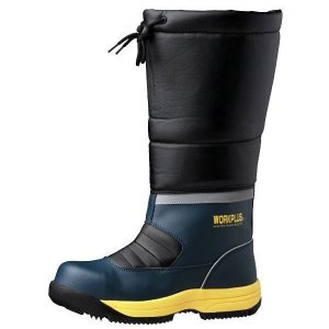 ミドリ安全 寒冷地用作業靴 簡易防水仕様 ブーツタイプ MPS-140 フード 雪 安全靴 長靴 ショート 作業用 現場 ゴム長|verdexcel-medical