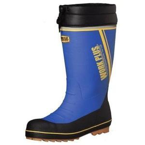 ミドリ安全 先芯入長靴 ワークプラス ブーツ MPB-810N ブルー 安全靴 雪 長靴 作業用 除雪 雪かき 現場 倉庫 工場 水産|verdexcel-medical