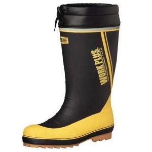 ミドリ安全 先芯入長靴 ワークプラス ブーツ MPB-810N ブラック 安全靴 雪 長靴 作業用 除雪 雪かき 現場 倉庫 工場 水産|verdexcel-medical