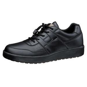 ミドリ安全 超耐滑軽量作業靴ハイグリップ H-711Nブラック 滑らない靴が必要な職場に|verdexcel-medical