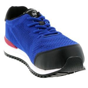ミドリ安全 女性用安全作業靴 MWJ-710 ブラック/ブルー ワーク女子力 レディース 女性向け 先芯入り 現場 倉庫 工場 通勤|verdexcel-medical|04