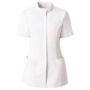 ミドリ安全 ベルデクセルチュニック VEM10 上 ホワイト 医療 衛生 作業着・服 手術衣・オペ着|verdexcel-medical