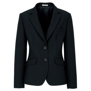Eternal ジャケット ブラック AJ0227-16 BONMAX ボンマックス 事務服 仕事着 通勤服 verdexcel-medical