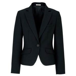 Eternal ジャケット ブラック AJ0228-16 BONMAX ボンマックス 事務服 仕事着 通勤服 verdexcel-medical