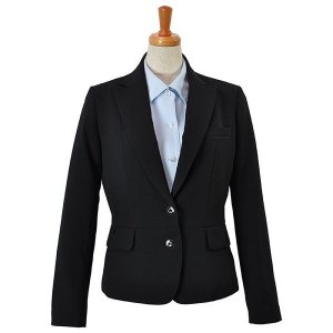 Excella ジャケット ブラック AJ0232-16 BONMAX ボンマックス 事務服 仕事着 通勤服 verdexcel-medical