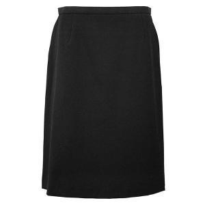 Excella Aラインスカート ブラック AS2258-16 BONMAX ボンマックス 事務服 仕事着 通勤服|verdexcel-medical