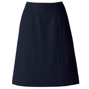 SOLOTEX(R) CREARTA(R) Aラインスカート AS2805-8 ネイビー オフィスウェア BONMAX ボンマックス 春夏 verdexcel-medical
