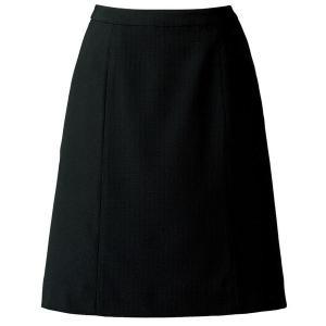 SOLOTEX(R) CREARTA(R) Aラインスカート AS2805-16 ブラック オフィスウェア BONMAX ボンマックス 春夏 verdexcel-medical
