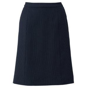 Le'ger Aラインスカート LS2753-30 ブラック×パープル 春夏 BONMAX ボンマックス オフィスウェア 事務服 企業 通勤 verdexcel-medical