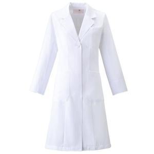 レディース ドクターコート HI400-1 ホワイト 白衣 医療 衛生 作業着・服 ワコール|verdexcel-medical