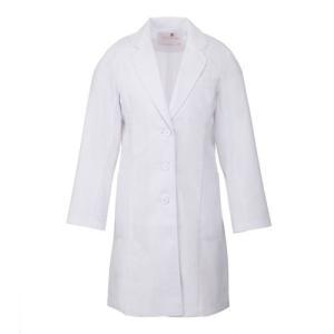 レディース ドクターコート HI401-1 ホワイト 白衣 医療 衛生 作業着・服 ワコール|verdexcel-medical