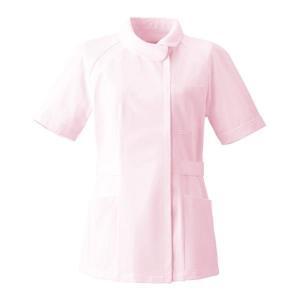 ナースウェア チュニック 2680-1 ピンク 白衣 医療 衛生 作業着・服|verdexcel-medical