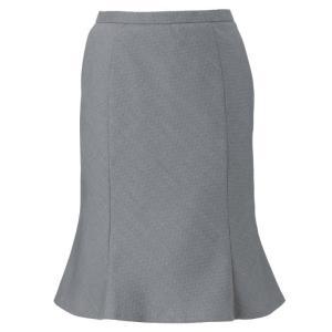 美スラッと(R) Suits2 マーメイドラインスカート EAS-584 5 グレー カーシーカシマ KARSEE 春夏 秋冬 オフィスウェア 事務服|verdexcel-medical