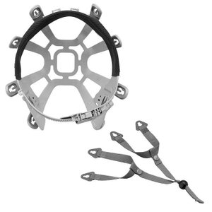 ミドリ安全 ヘルメット内装品 交換用 LMK用 小サイズ 内装一式 (絞り上げ)|verdexcel-medical