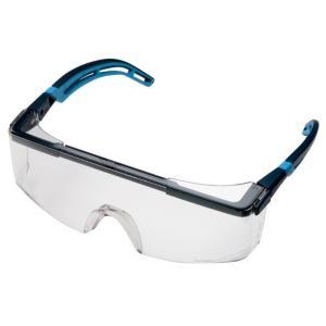 保護めがね uvex ウベックス X-9164 アストロスペック 2.0 フレームカラー ブルー JIS規格品|verdexcel-medical