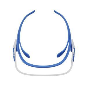 ミドリ安全 メディカルフェイスシールド ルックユー 本体 ブルー VMS-551(B) 保護メガネ 医療衛生用品|verdexcel-medical