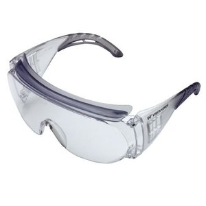 ミドリ安全 保護メガネ ビジョンベルデ VS-301H めがね併用形(ハードコート)|verdexcel-medical