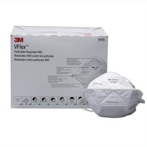 3M 9105-N95 レギュラーサイズマスク 50枚入×8箱 現場 ウイルス対策 花粉対策 予防|verdexcel-medical