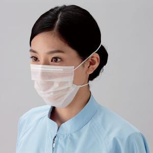 ミドリクリーンマスク 2枚重ね K-210R オーバーヘッド 3000枚 ウイルス対策 花粉対策 予防|verdexcel-medical