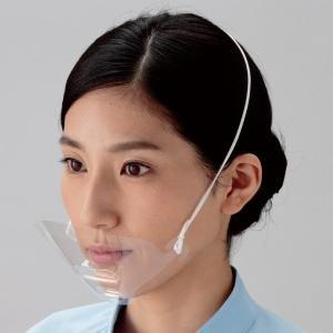 生産加工 透明衛生マスク スマイルクリアー 2WAY 30枚入 ミドリ安全 ウイルス対策 花粉対策 予防|verdexcel-medical