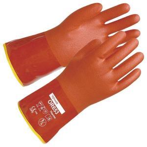 防寒手袋 OR653 ソフトビニスター防寒インナー付 LL (12双/袋)|verdexcel-medical