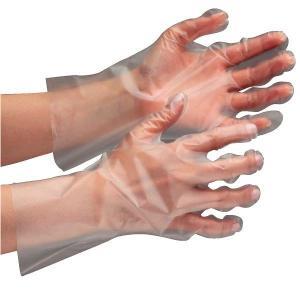 ミドリ安全 外エンボスポリエチぴったり手袋 ベルテ575 クリア SS〜L 200枚X30箱 業務用 ポリエチレン製ディスポ手袋|verdexcel-medical