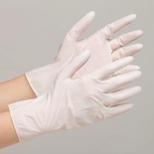 ミドリ安全 天然ゴム手袋 ベルテ610N 粉なし ホワイト S〜L 100枚|verdexcel-medical