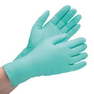 ミドリ安全 ニトリル手袋 ベルテ761H グリーン SS〜LL 極薄手タイプ 粉なし パウダ-フリー 200枚 使い捨て手袋|verdexcel-medical