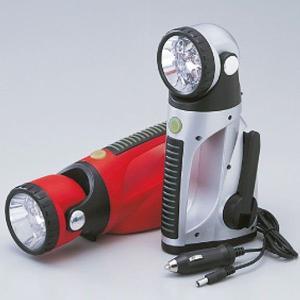 防災用品 スーパーエコLEDライト SE-6000S シルバー 353012|verdexcel-medical