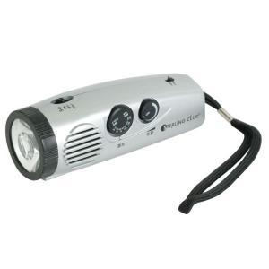 ラジオライト LEDパームラジオライト4505 電池付 携帯ラジオ 非常用 防災グッズ 災害用品 避難生活|verdexcel-medical
