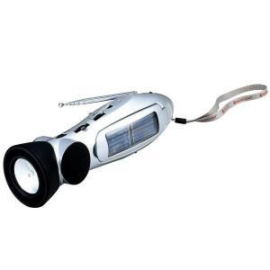 手回し充電ラジオ スターリングターボ 携帯ラジオ LEDライト 非常用 防災グッズ 災害用品 避難生活|verdexcel-medical