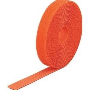 TRUSCO トラスコ中山 マジックバンド結束テープ 両面 オレンジ 20mm×5m MKT2050...