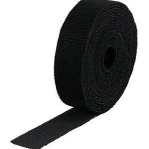 TRUSCO トラスコ中山 マジックバンド結束テープ 両面 黒 40mm×5m MKT4050BK ...