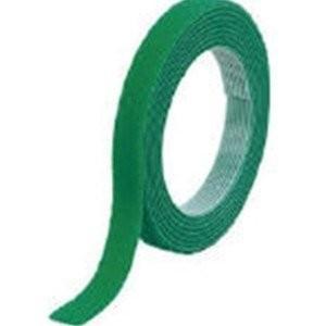 TRUSCO トラスコ中山 マジックバンド結束テープ 両面 緑 10mm×1.5m MKT1015G...