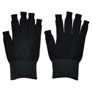 送料無料 ミドリ安全 スライドタッチ手袋 ブラック Lサイズ 指先が使える! スマホ手袋 防寒 現場 釣り|verdexcel-medical