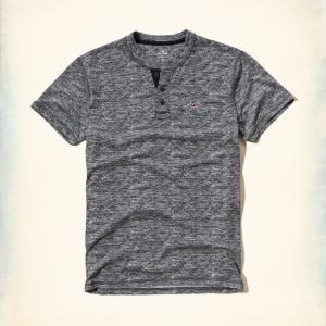 ホリスター HOLLISTER Tシャツ ヘンリー メンズ ...