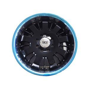 HUMMER ハマー H2 ACE C811B アルミ 24×10J(20) 165-8H ブラック 4本セット 24インチ (長期展示品)|verger-autoparts