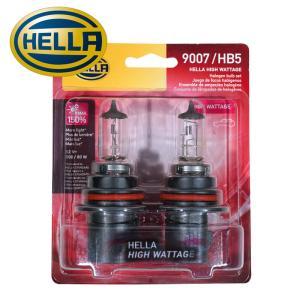 HELLA ハイワッテージ ハロゲンバルブ HB5/9007 100/80W 12V 2個セット (ハマーH2、ナビゲーター、エクスプローラー 他)|verger-autoparts