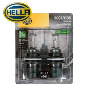 HELLA +50 パフォーマンス ハロゲンバルブ HB5/9007 65/55W 12V 2個セット (ハマーH2、ナビゲーター、エクスプローラー 他)|verger-autoparts