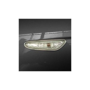 01-05y BMW 3シリーズ E46 クローム サイドランプリム|verger-autoparts