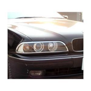 96y‐03y BMW 5シリーズ E39 クローム ヘッドライトリム verger-autoparts